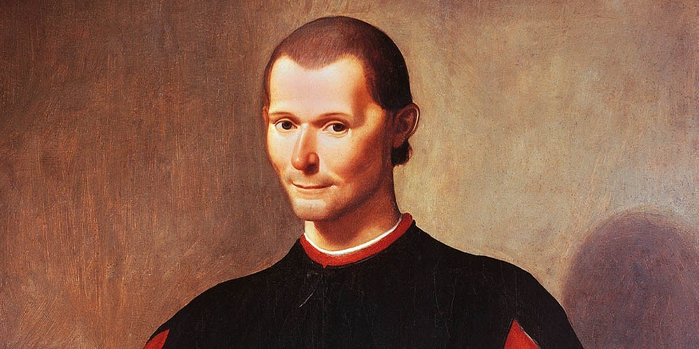 Niccolò Machiavelli, author of the Prince and the Discourses