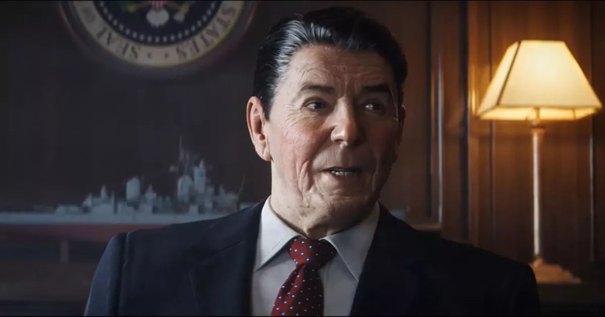Reagan's appearance in Call of Duty: Cold War Black Ops