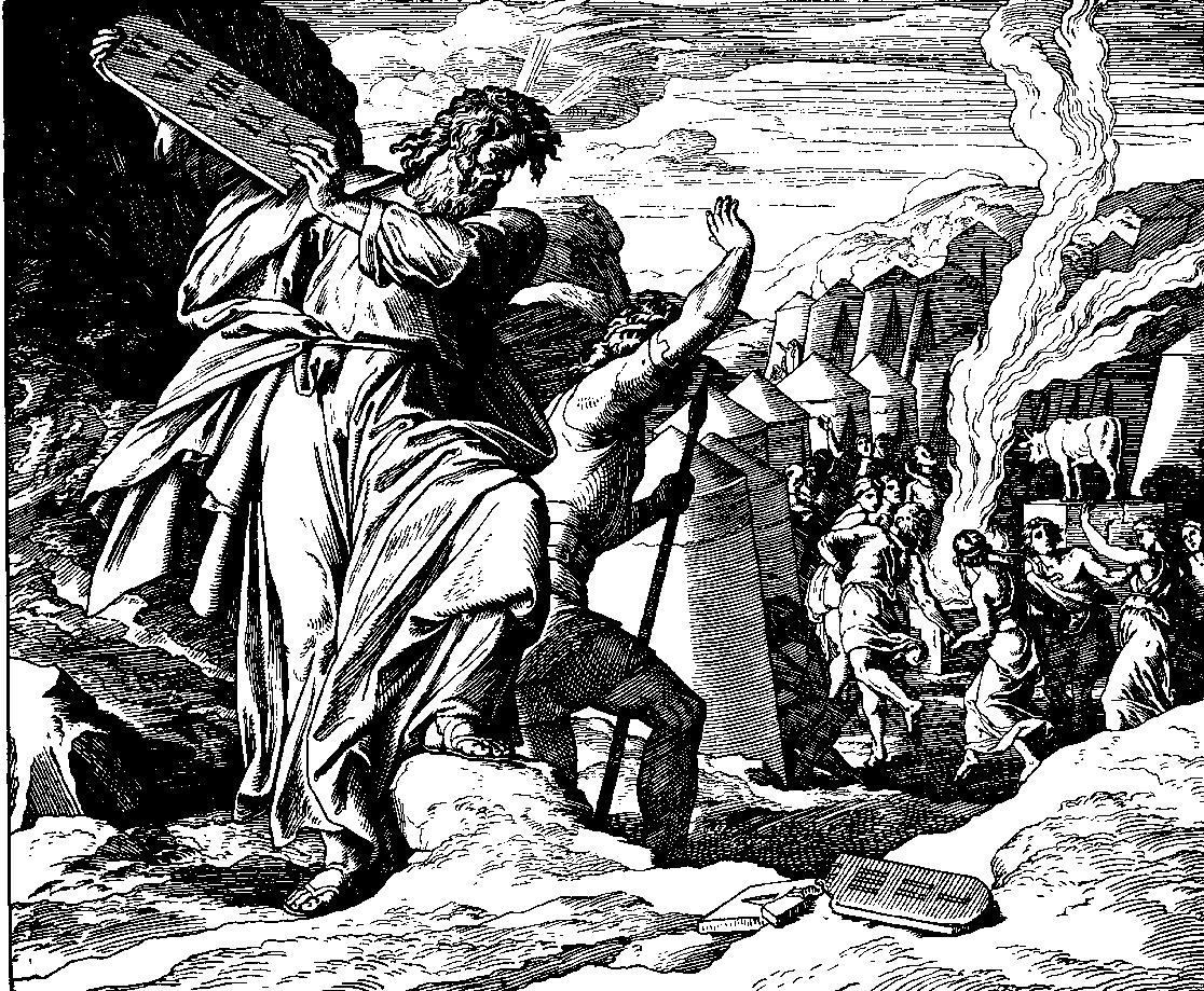 Schnorr von Carolsfeld, Moses
