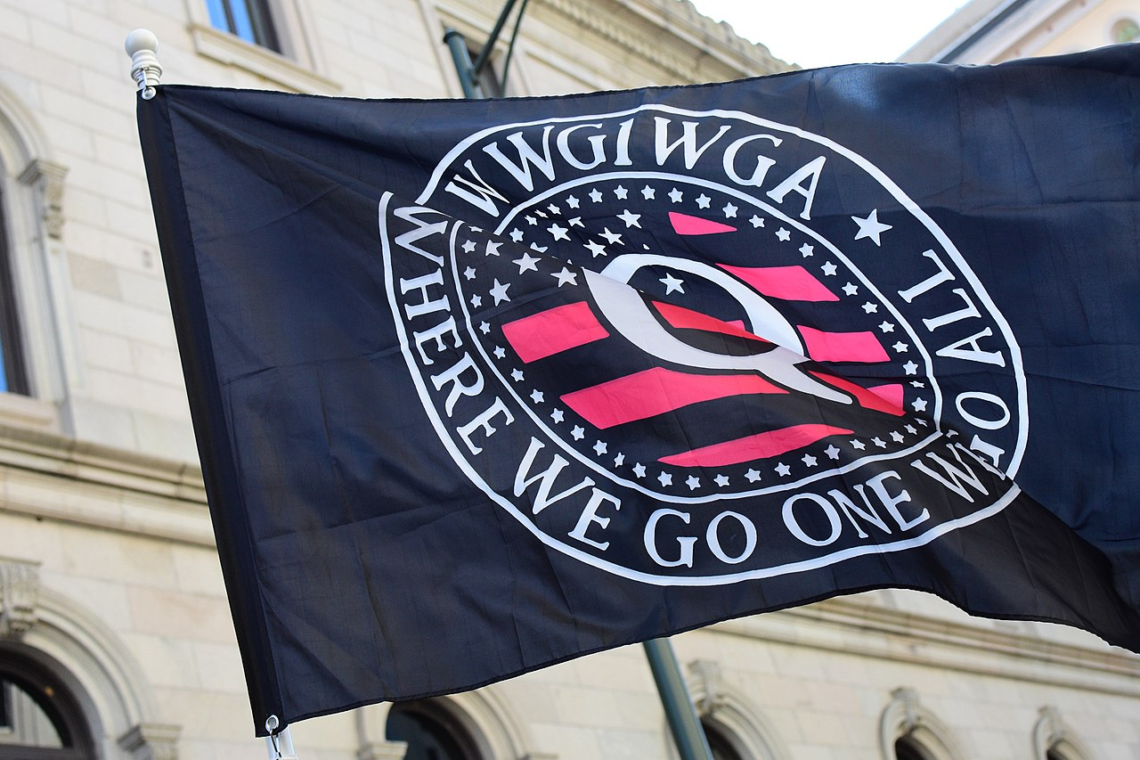 Q Flag - Where We Go One We Go All - WWGOWGA - Richmond, Virginia Second Amendment Rally in 2020