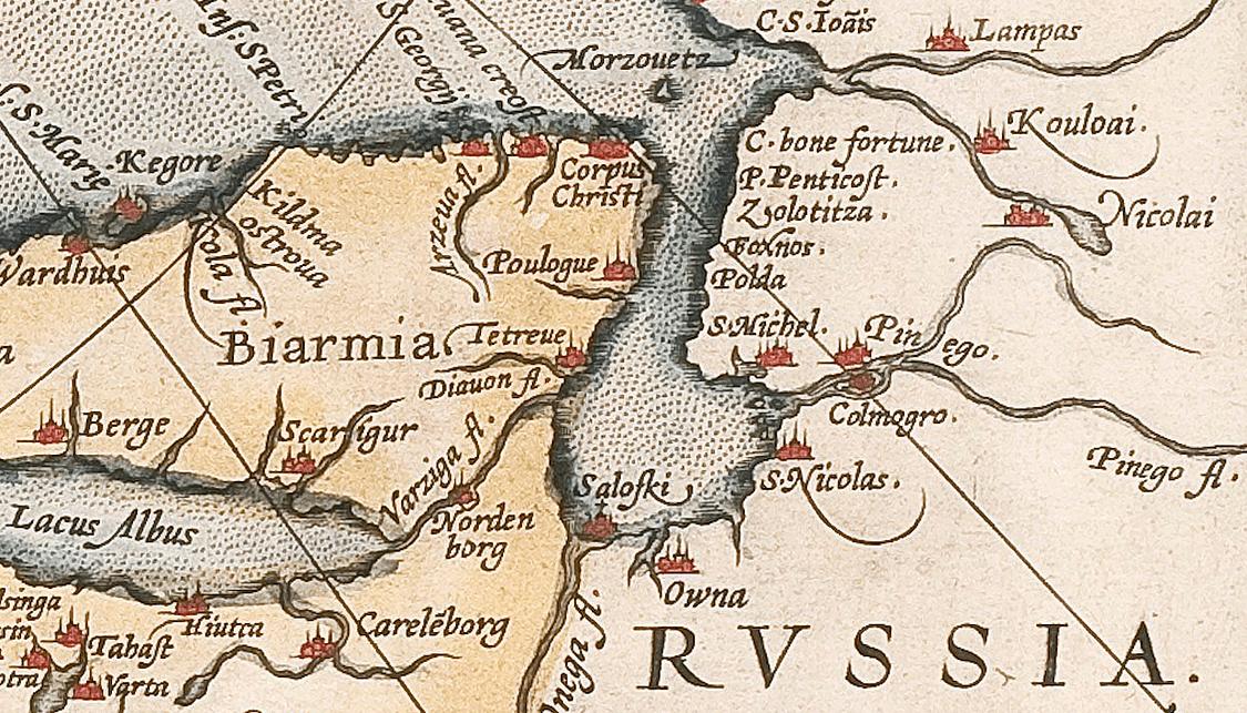 White Sea Map